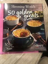 SLIMMING WORLD 50 GOLDEN GREATS RECEIPT BOOK