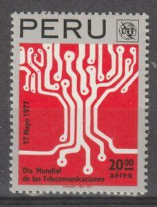 Peru 1977 #C463 World Telecommunications Day - MNH