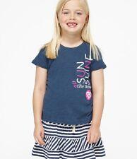 Roxy Kids Shine Time Navy Sz 5  Tee Shirt