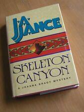 J. A. Jance , Skeleton Canyon , A Joanna Brady Mystery , Avon Books 1st Ed 1997