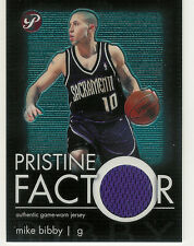 2003-04 TOPPS PRISTINE FACTOR RELICS MIKE BIBBY JERSEY