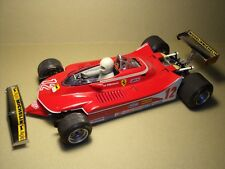 FIGURINE  1/18  GILLES  VILLENEUVE  VROOM  FOR  FERRARI  312  T4  EXOTO