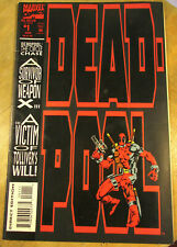 DEADPOOL #1  MARVEL 1993 On White Pages No Reserve!