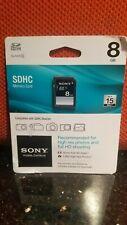 Sony 8GB SDHC Class 4 Memory Card (SF8N4/TQMN)