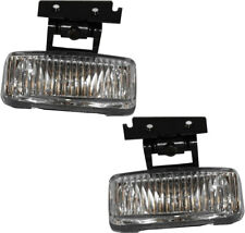 New Front Driving Fog Light Assembly NEW Pair Set for 197-2001 Jeep Cherokee XJ