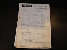 Original Service Manual Grundig  RF 110