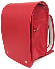 Japanese Randoseru Style Backpack Carmine red CHRP-04 for elementary school. F/S