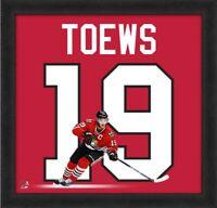 """Jonathan Toews Chicago Blackhawks NHL Uniframe Photo (Size: 20"""" x 20"""") Framed"""