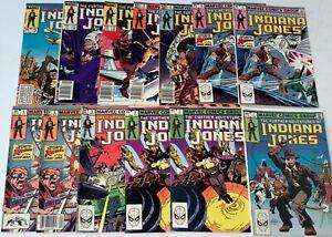 Marvel Adventures Indiana Jones Comic Book Issue Lot Run 1-13 Total Mid-High