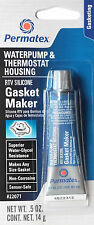 PERMATEX RTV Silicone Gasket Maker Waterpump and Thermostat Housing 22071