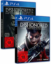 Dishonored 2 + Tod des Outsiders 2in1 (PS4) (NEU & OVP) (UNCUT) (Blitzversand)