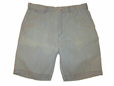 Rugby Ralph Lauren Blue Chambray Polo Weathered Beach Shorts Pants 36