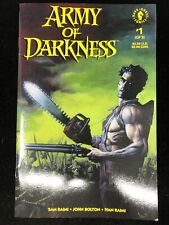 Army of Darkness #1 ~ Dark Horse Comics 1992 John Bolton ~ 9.4 NM