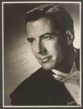 R Photo Jerome Hines Usa Opera Bass Original Signed