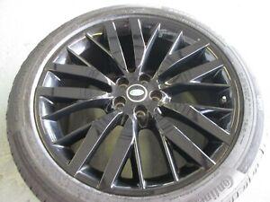 "Range Rover Sport Genuine 22"" SVR Alloy Wheel L494 Black Autobiography HSE Vogue"