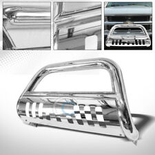 CHROME HD BULL BAR PUSH BUMPER GRILL GRILLE GUARD 88-00 CHEVY GMC C10 C/K PICKUP