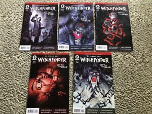 Sir Edward Grey Witchfinder: City of the Dead 1 2 3 4 5 VF + Gates of Heaven 2-5
