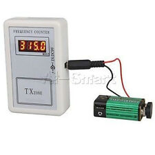 RF Frequency Detector Cymometer Meter Scanner Counter 250-450MHZ remote controll