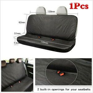 Waterproof Washable Universal Car Oxford Cloth Seat Cover For Car SUV Rear Seat