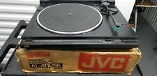 JVC MODEL AL-A110 AUTO RETURN TURNTABLE Tested With New needle and   Box