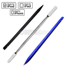 NEW 3 PCS PRY REPAIR OPENING TOOLS FOR iPHONE - BLACK & BLUE NYLON + SPUDGER UK