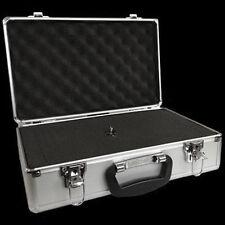 FreeLogix Aluminium Flight Camera Microphone Case Silver 400mm x 240mm x 125mm with Foam Inserts