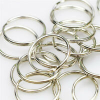 SPLIT RINGS,KEY RINGS,CONNECTORS,FINDINGS, 50 x 25mm PREMIUM HEAVY DUTY