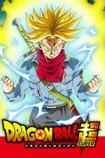 Dragon Ball Super Poster Future Trunks SSJ 12in x 18in Free Shipping
