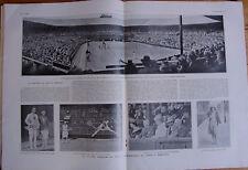 L'ILLUSTRATION 4297 DU 11/7/1925 TENNIS WIMBLEDON LENGLEN LACOSTE .. VERSAILLES