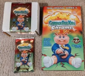 2020 Topps Garbage Pail Kids Chrome 3 Set 100 cards mint in box + wrapper+HOBBY