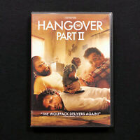 THE HANGOVER: PART II 2 TWO 2011 DVD starring Bradley Cooper & Zach Galifianakis