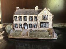 New listing Lilliput Lane Cottages - Bronte Parsonage - Handmade Cambria Uk Mint
