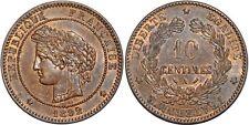 10 CENTIMES CERES 1892   F.135 SPL!!!