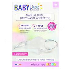 BabyDoo Baby Nasal Nose Aspirator-from Birth- Manual 2 in 1  VISIOMED MX-10