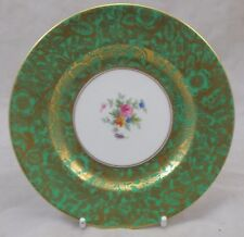Minton BROCADE GREEN bread and butter / side plate 15.5cm - 6 1/4 inch