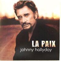 Meilleur Prix ! JOHNNY HALLYDAY : LA PAIX / ELLE S'EN MOQUE - [ CD SINGLE ]