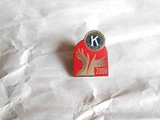2008 Kiwanis International Club Hands Enamel Lapel Pin