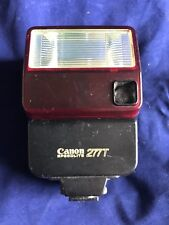 Canon Speedlite 277T Shoe Mount Flash Tested and Fully Working
