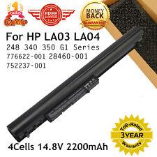 Replace 776622-001 HSTNN-DB6N for HP BATTERY Laptop 14.8V 2200mAh 15-F 15-F305DX