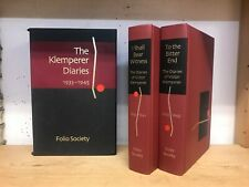 The Klemperer Diaries 1933-1945: 2 Volume Box Set: Folio Society in Slipcase