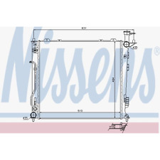 Kühler Motorkühlung - Nissens 67465