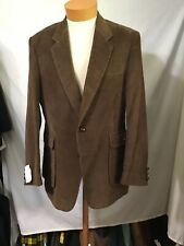 Corduroy Collection Dark Bron Clean Sportcoat Sz 42L $4.50