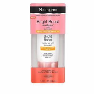 Neutrogena Bright Boost Moisturizer with Sunscreen