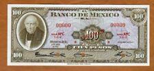 SPECIMEN, Mexico, 100 Pesos, 24-4-1963, P-61bs, UNC