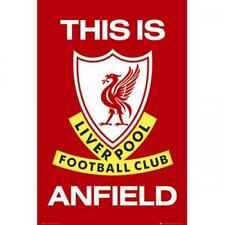 Liverpool FC This Is Anfield Poster Football Club New