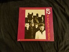 U2 Laserdisc The Unforgettable Fire Collection,Tested, One Owner, Pop, Rock