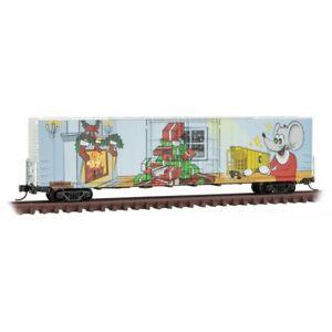 Microtrains N Scale 10200170 Micro Mouse 2021 Christmas 60' Box Car