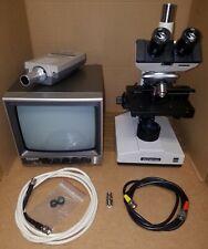 Olympus CHBS Binocular Microscope 100x OIL,  40x, 10x and 4x objectives
