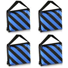Neewer 4xSacco Sacchetto di Sabbia Kit Contrappeso Sandbag per Studio Stativo