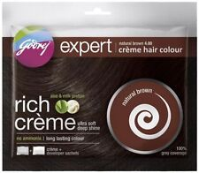 GODREJ EXPERT HAIR COLOR 20GMS+20ML PACK NO AMMONIA natural brown (pack of 10)